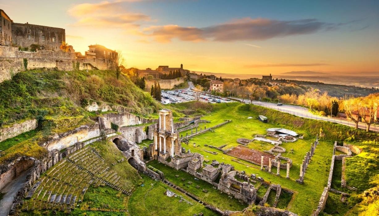 San Gimignano , Volterra & Tuscany