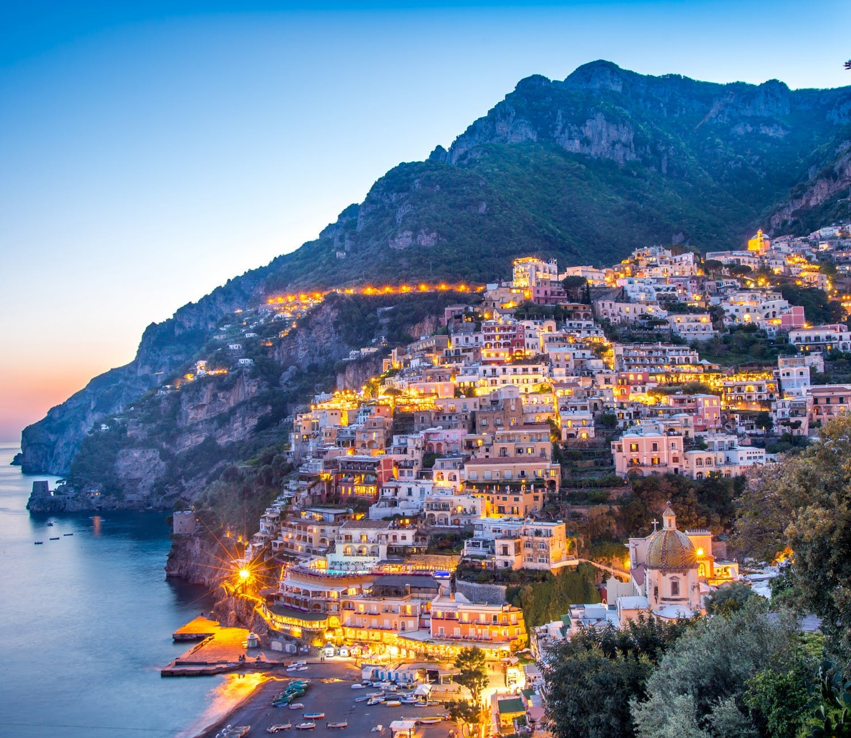 Amalfi Coast, Pompeii & Positano