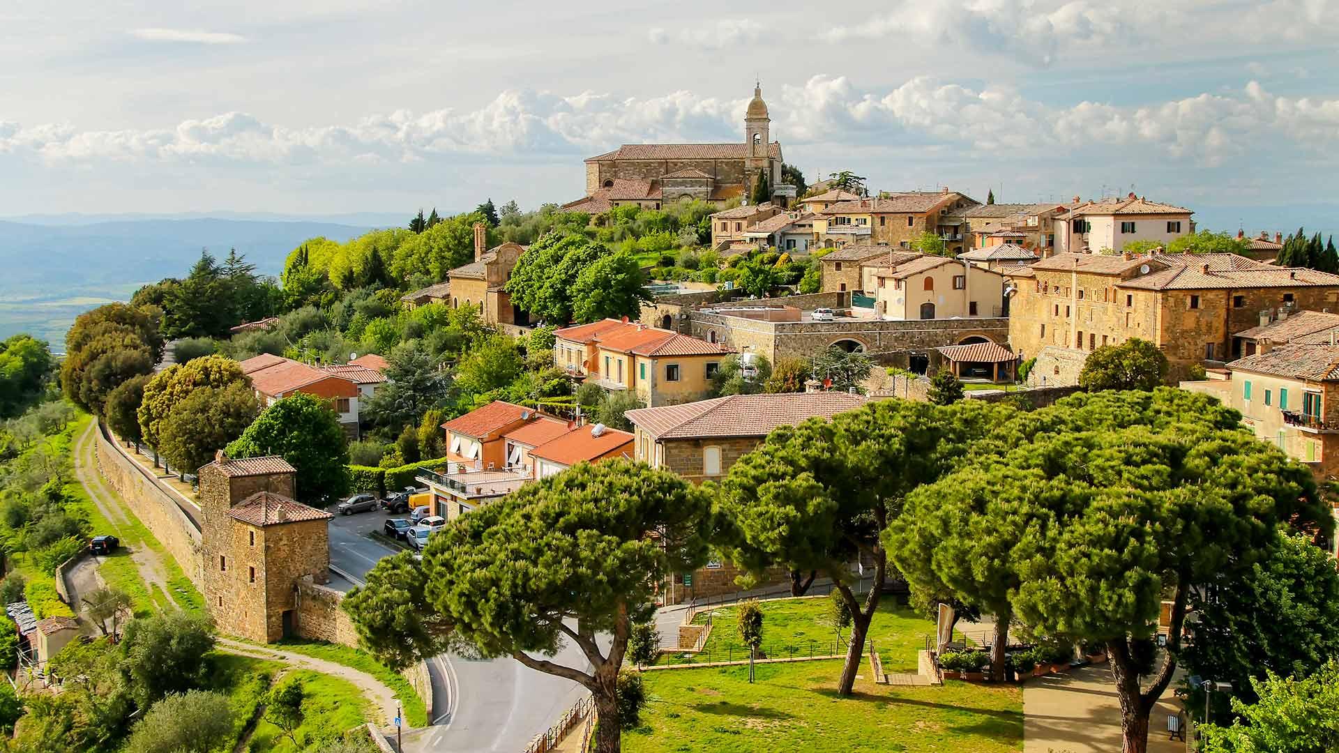 Montepulciano, Pienza & Montalcino
