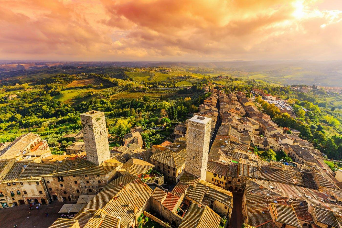 Siena & San Gimignano Day Trip