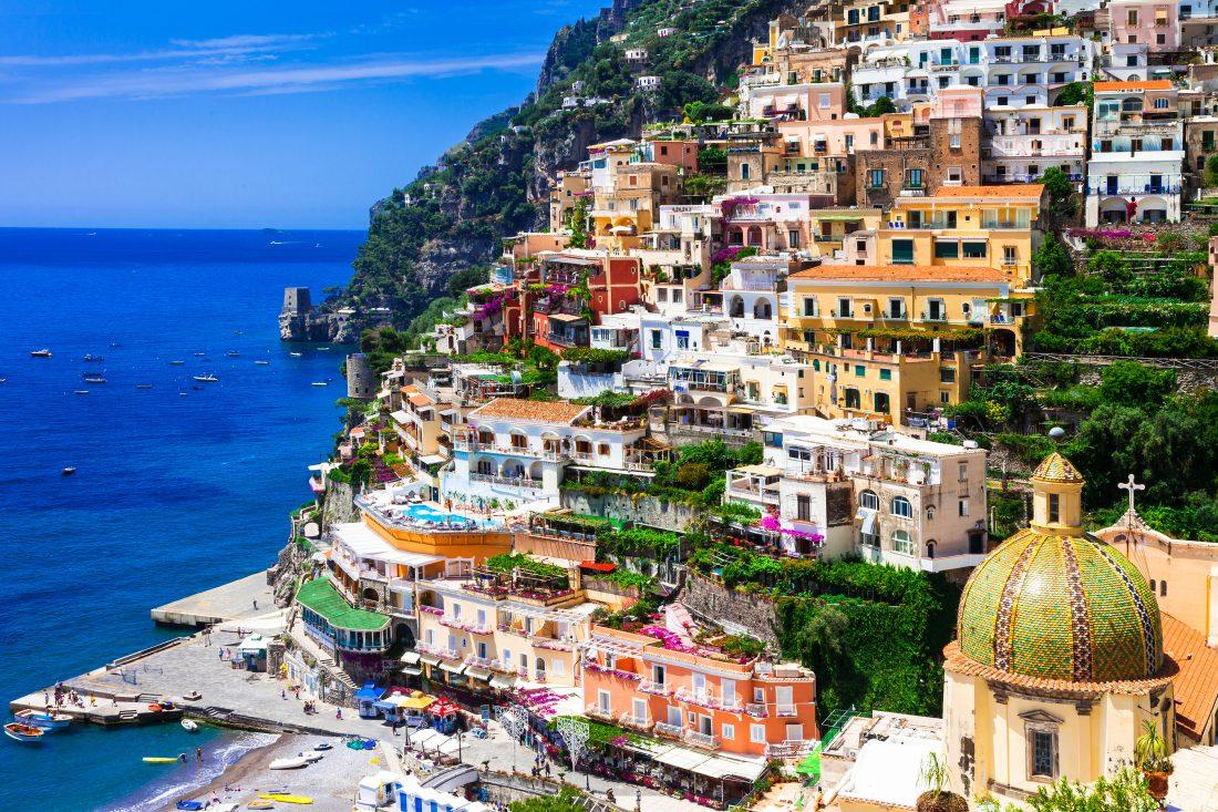 Amalfi Coast , Positano , Sorrento , Capri & Pompeii From Rome 5 Days