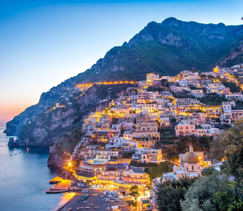 Amalfi Coast , Positano , Sorrento , Capri & Pompeii From Rome 3 Days
